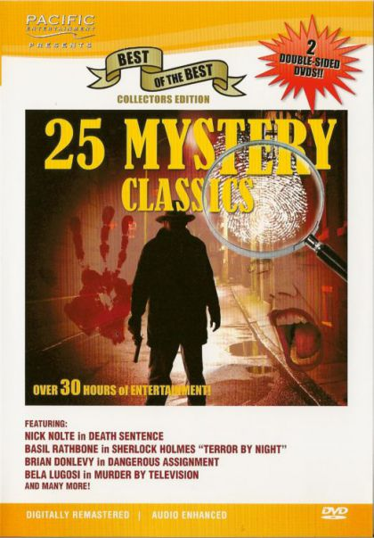 Image for 25 Mystery Classics