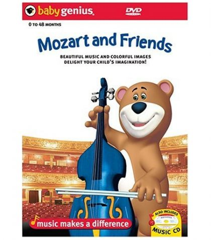 Image for Baby Genius: Mozart And Friends