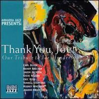 Image for Thank You, Joe! Our Tribute To Joe Henderson