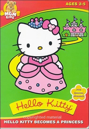 Image for Hello Kitty: Hello Kitty Becomes A Princess