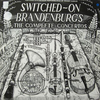 Image for Bach: Switched-On Brandenburgs, 1